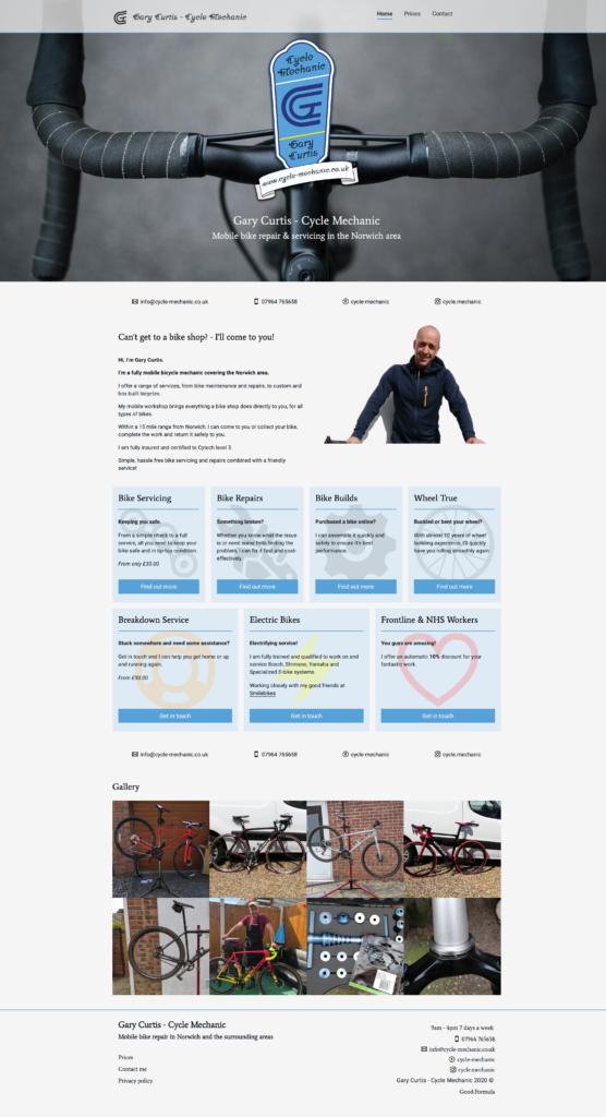 Gary Curtis - Mobile Cycle Mechanic